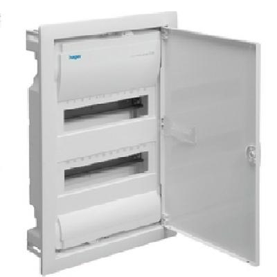 HAGER - Coffret encastré - 24 modules - Ref VU24ND