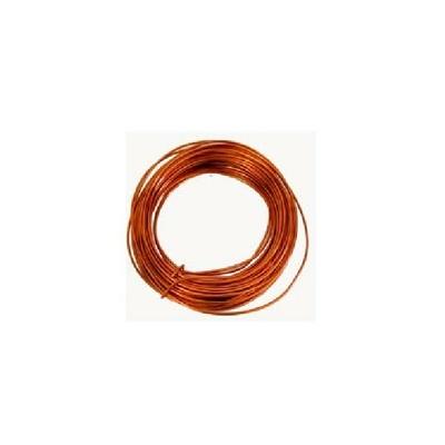MIGUELEZ - Câble de mise à la terre  - Couronne de 25 mètres - Cuivre Nu diamètre 25mm