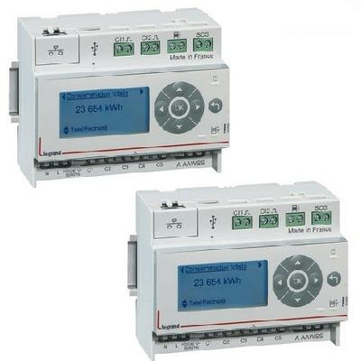 LOT - LEGRAND - 2 Eco -compteurs 110-230 V~ - 6 modules - Réf - 412000