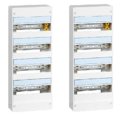 LEGRAND - LOT de 2 Coffrets DRIVIA Coffret DRIVIA 13 modules 4 rangées IP30 IK05 - ref 401214