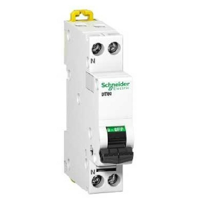 SCHNEIDER ELECTRIC - Prodis, DT40 1P+N 25A Courbe C - ref A9N21027