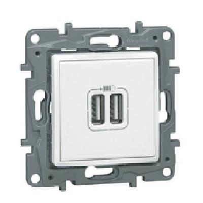 LEGRAND - Prise Double USB Eclat -Ref -  096625