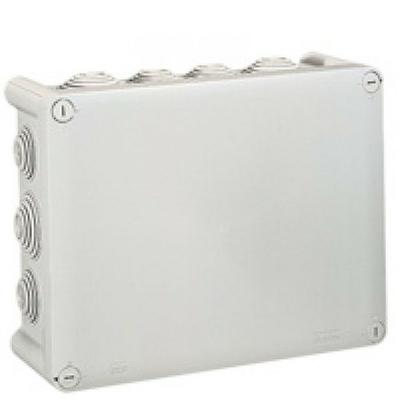 LEGRAND - Boîte dérivation étanche - Plexo gris - 220x170x86 - embout (14) -IP55/IK07- 750C - Ref - 092062