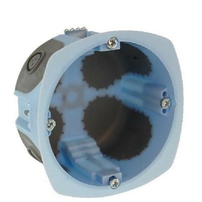 Eur'Ohm - Pack de 100 boites encastrables XL AIRMETIC Ø67mm - REF 52061