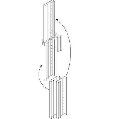 REHAU - kIT Cofralis - Goulotte GTL pliante 13M - Assemblable - REF 733808-100