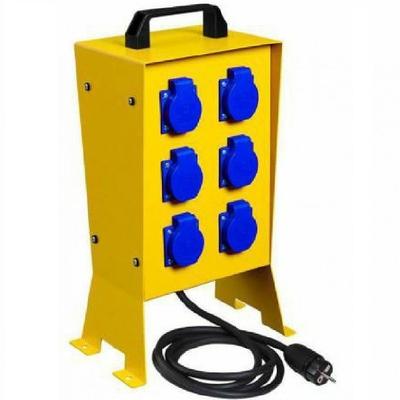 DIGITAL ELECTRIC - Coffret de chantier 6pc métallique + arrêt d'urgence - Réf 31452