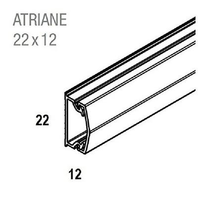 REHAU - Moulure Adhesive - Atriane - 22X12 mm - Ref - 735790-100