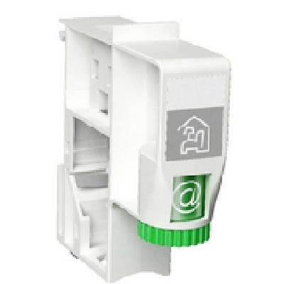 SCHNEIDER ELECTRIC - LexCom Home Accessoire 1 Fix RJ45 vide pour connecteur RJ45 S -ONE - REF - VDIR380005