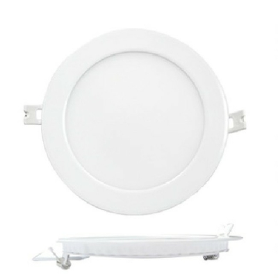 MIIDEX - Plafonnier LED Blanc Ø180mm - 12W - 3000K - REF - 7755