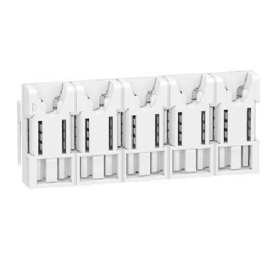 SCHNEIDER ELECTRIC - Rési9 XE - Répartiteur 5 modules - sans connecteur - REF R9EXHS05