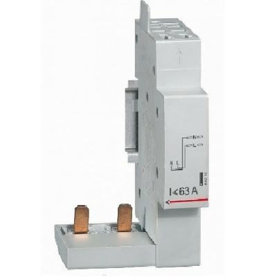 LEGRAND - Module de raccordement par peigne pour DX - borne auto - 2P jusqu'à 63A - 1 module -Ref - 406300