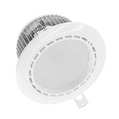 MIIDEX - Spot LED Fixe 4 Zones avec Alimentation Electronique 13W RGB + 4000K - REF - 76484