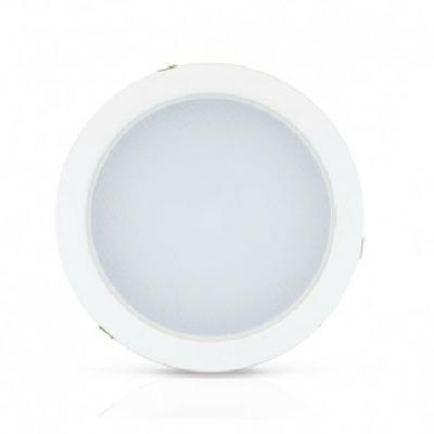 MIIDEX - Downlight encastrable LED 28W Ø230 4000K blanc - REF - 7652