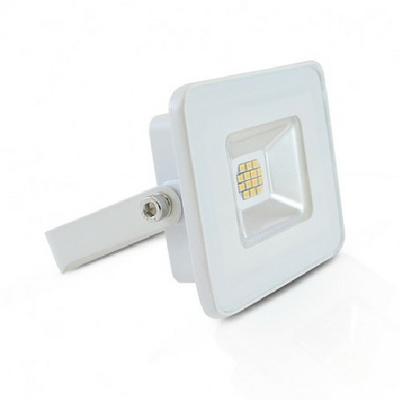 MIIDEX - Projecteur LED 10W IP65 plat blanc jour 4000K sans détecteur - REF - 800115