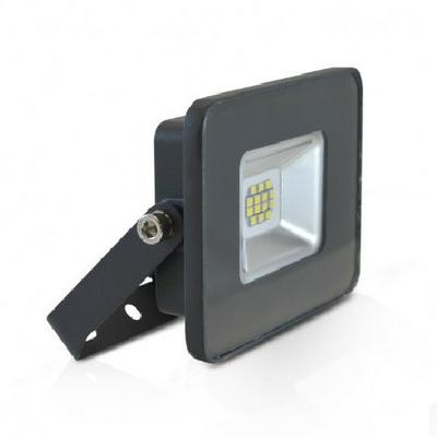 MIIDEX - Projecteur LED 20W IP65 plat gris jour 4000K sans détecteur - REF - 800422