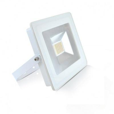MIIDEX - Projecteur LED 30W IP65 Plat Blanc 4000K sans détecteur - REF - 800221
