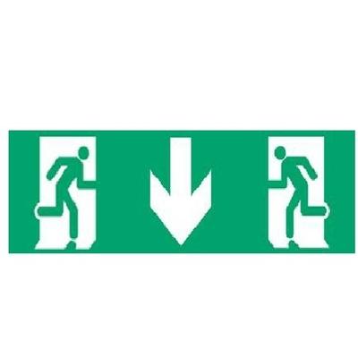 ZEMPER - Etiquette multidirectionnelle adhésive - Réf - APV000
