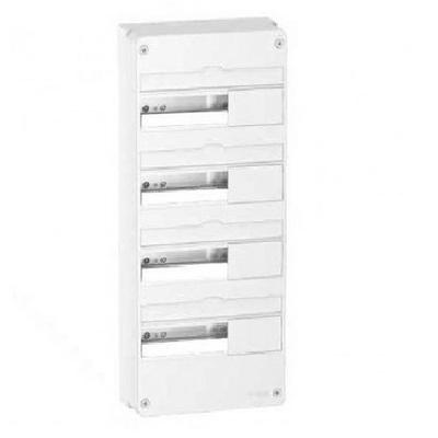 SCHNEIDER ELECTRIC - Rési9 -  Coffret en saillie Blanc - 4 rangées de 13 modules - Réf R9H13404