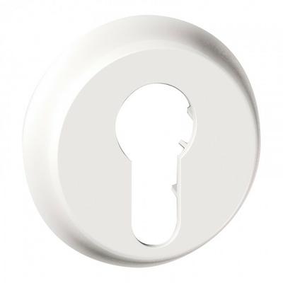 LEGRAND - Enjoliveur Céliane - interrupteur à clé - 2 positions - blanc - REF 068009