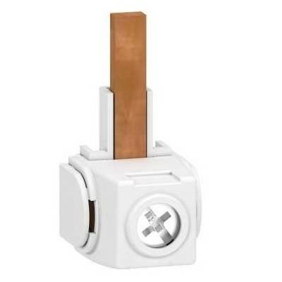 SCHNEIDER ELECTRIC - Acti9 - Lot de 4 connecteurs - pour peigne 1P+N - REF - A9XPC604