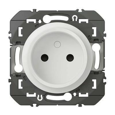 LEGRAND - Prise de courant 2P à puits dooxie 16A finition blanc - REF 600334