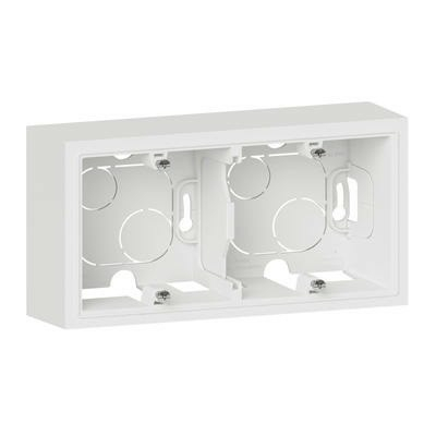 LEGRAND - Cadre saillie 2 postes dooxie finition blanc - REF 600042