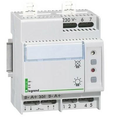 LEGRAND - Télécommande Lexic multifonction non polarisée - jusqu'à 300 blocs - 4 mod - REF 003900