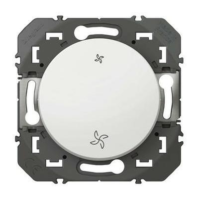 LEGRAND - Poussoir commande VMC dooxie finition blanc - REF 600006