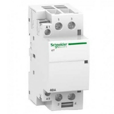 SCHNEIDER ELECTRIC - Acti9 Contacteur iCT 40A 2NO 230...240VCA 50Hz - REF - A9C20842