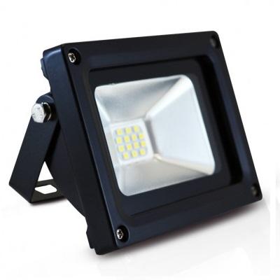MIIDEX - Projecteur Led 10W extérieur IP65 6000K Noir - REF 800113