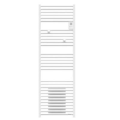 THERMOR - Sèche-serviettes électrique Riva 4 - 500 + 1000W - Avec soufflerie - Blanc satin Réf 471558
