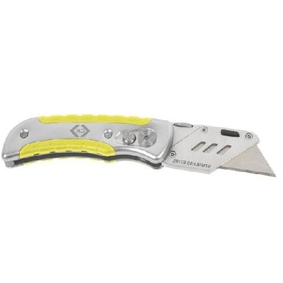 CK - Cutter repliable - lame en acier inoxydable Réf T0954
