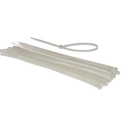 KLAUKE - Colliers de câblage standard blanc - Réf - L-3.5-145