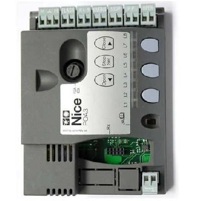 NICE - Carte Electronique - Logique de commande pour POP7124 moteur Hoppkit - Réf - PO3A