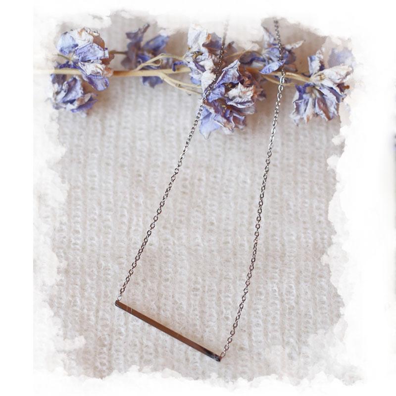 Necklace Oriane - Silver