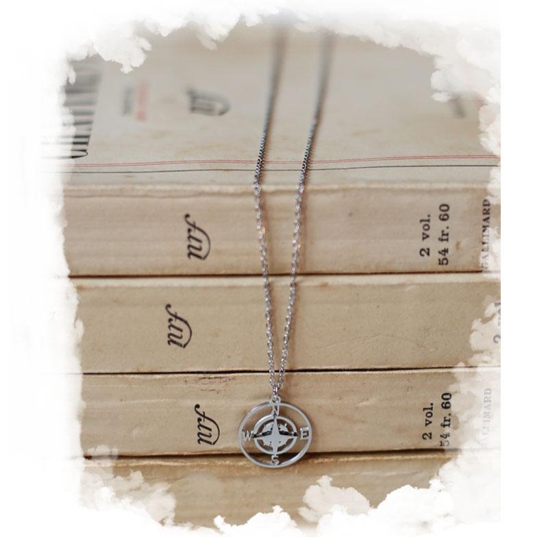 Necklace Rosa - Silver