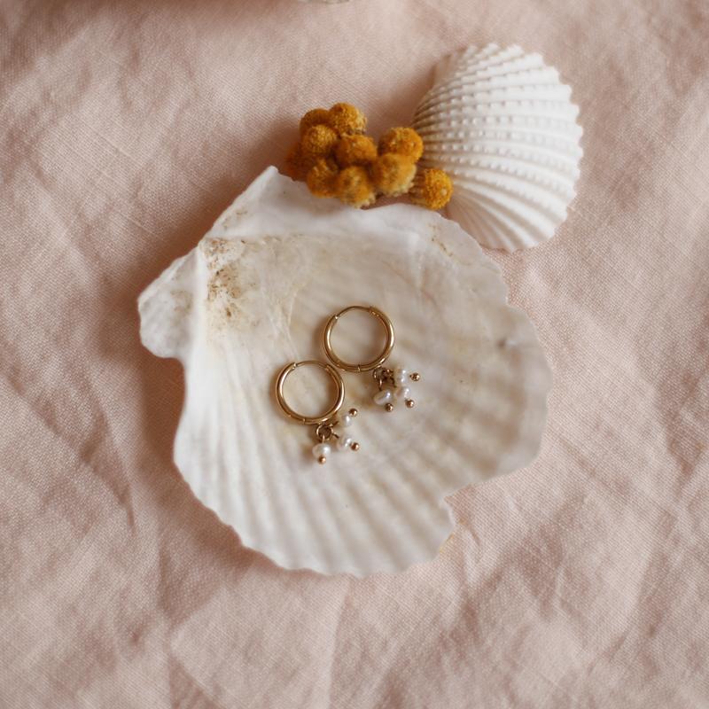 Earings Élisa - Golden