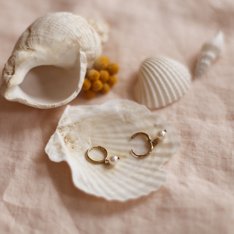 Earings Colombe - Gold