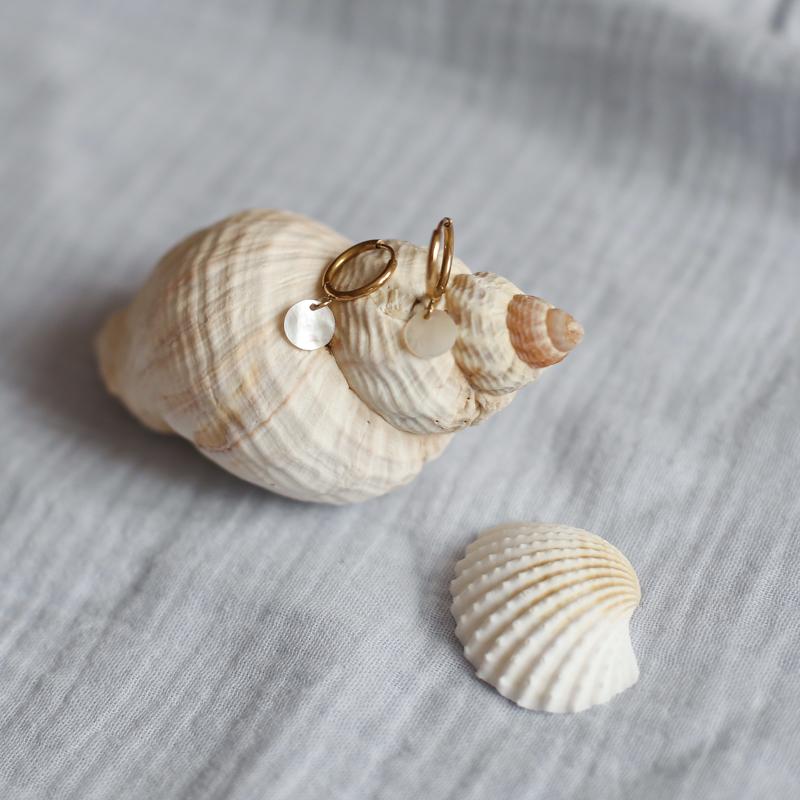 Earings Calypso - Golden