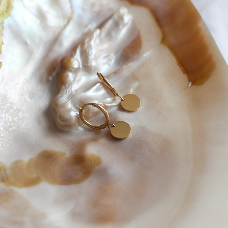 Earings Calie - Golden
