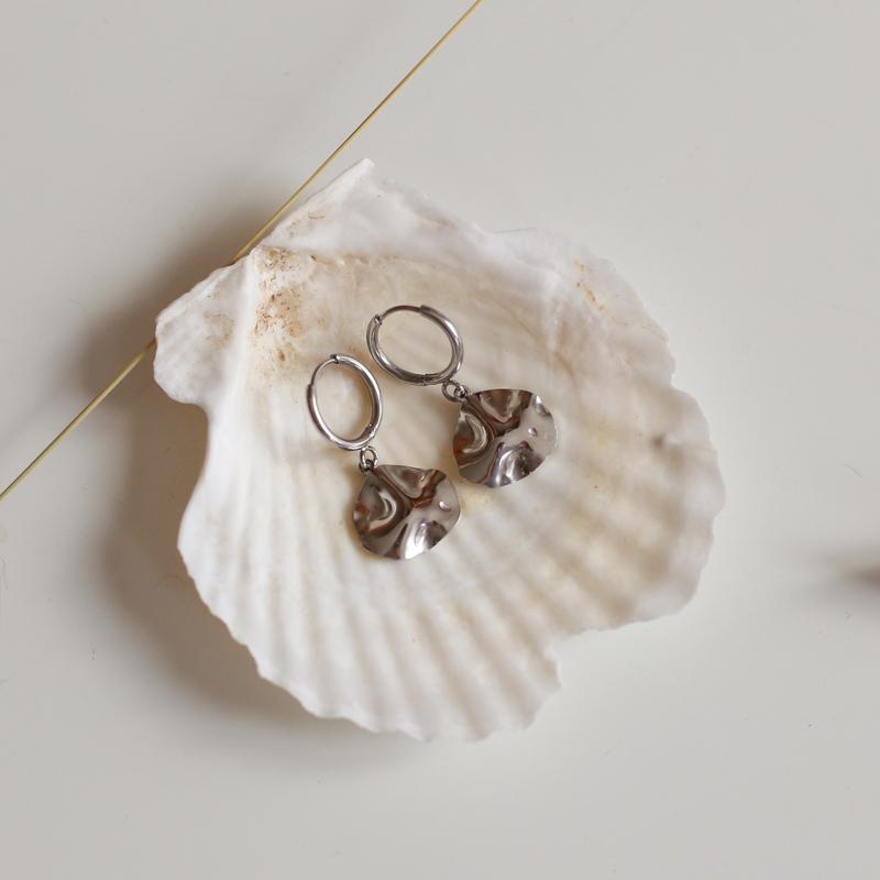Earings Garance - Silver