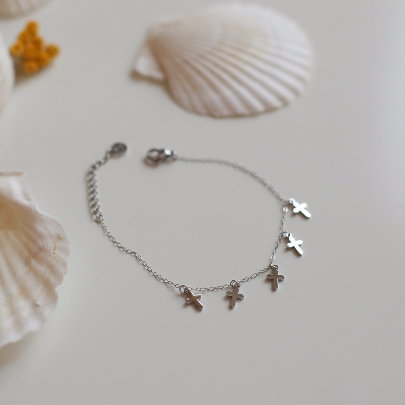 Bracelet Daphné - Silver