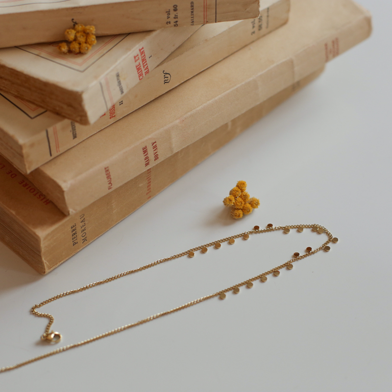 Necklace Appoline - Golden