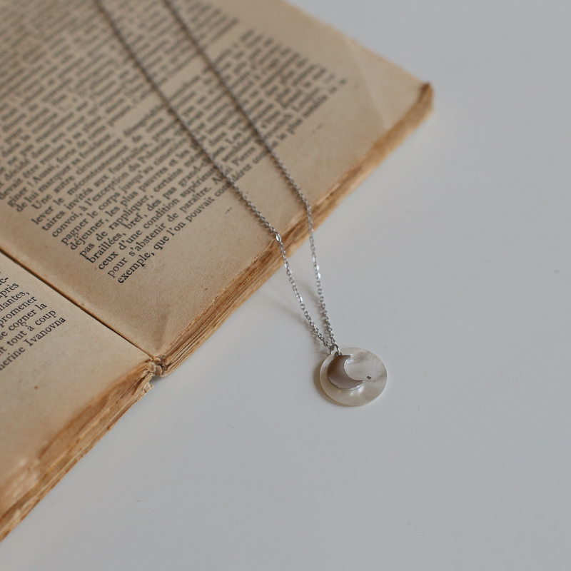 Necklace Delphine - Silver