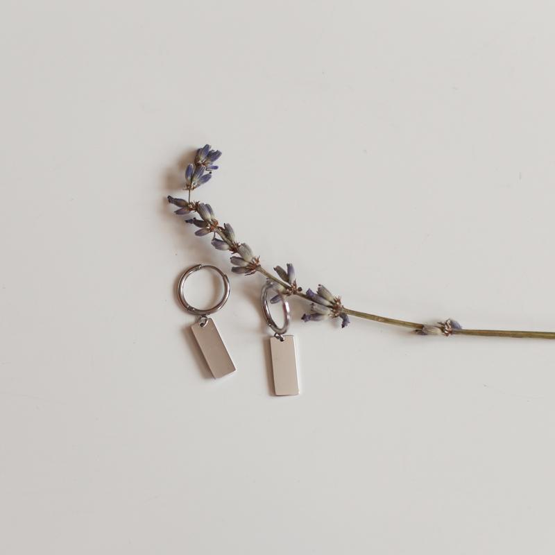 Earings Kate - Silver