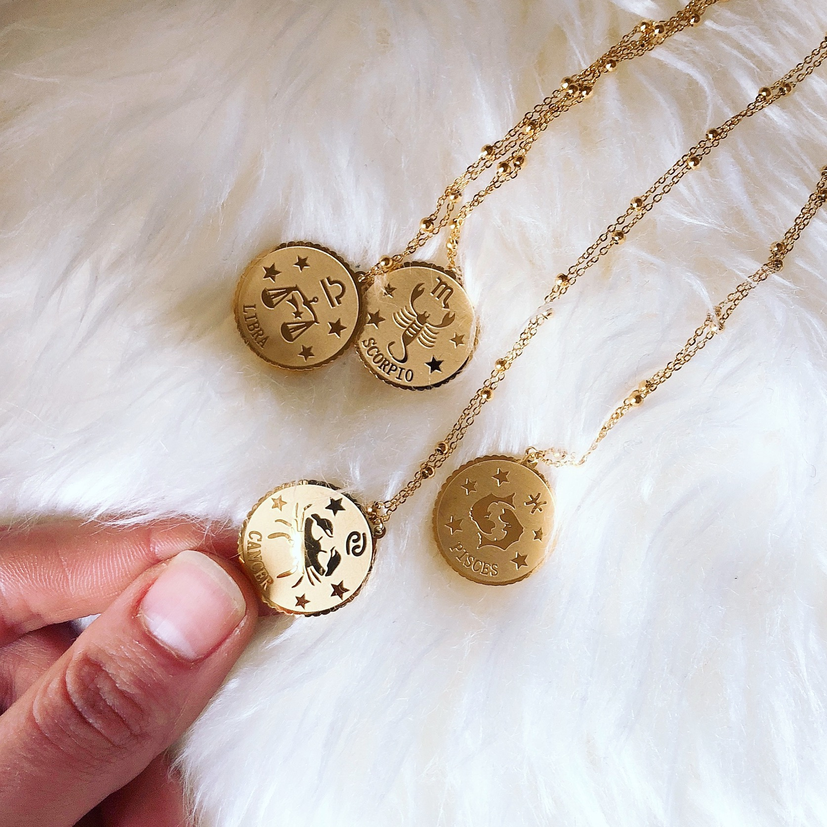 Necklace  ASTRO - Gold