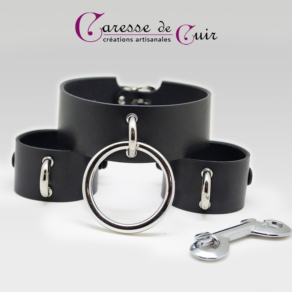 Salomé - Ensemble bracelets et collier