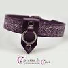Collier-cuir-violet-SM-pointe-amovible-argent-1