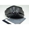 sur masque de protection en cuir avec 3 filtres double epaisseur en tissus lavable noir caressedecuir