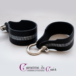 Bracelet-cuir-noir-martelage-argent-fermoir-manille-argenté-1b